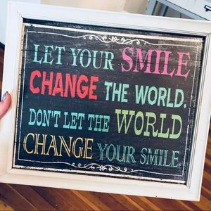 Other - Multicolored Motivational Decor Sign